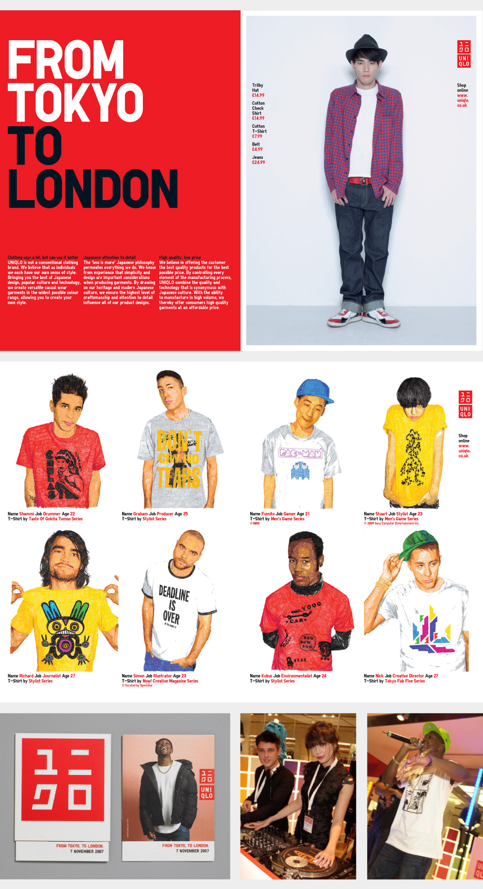 uniqlo case study Fast retailing has grown its business with its flagship brand uniqlo accenture   client case study  fast retailing, with uniqlo as its flagship brand.