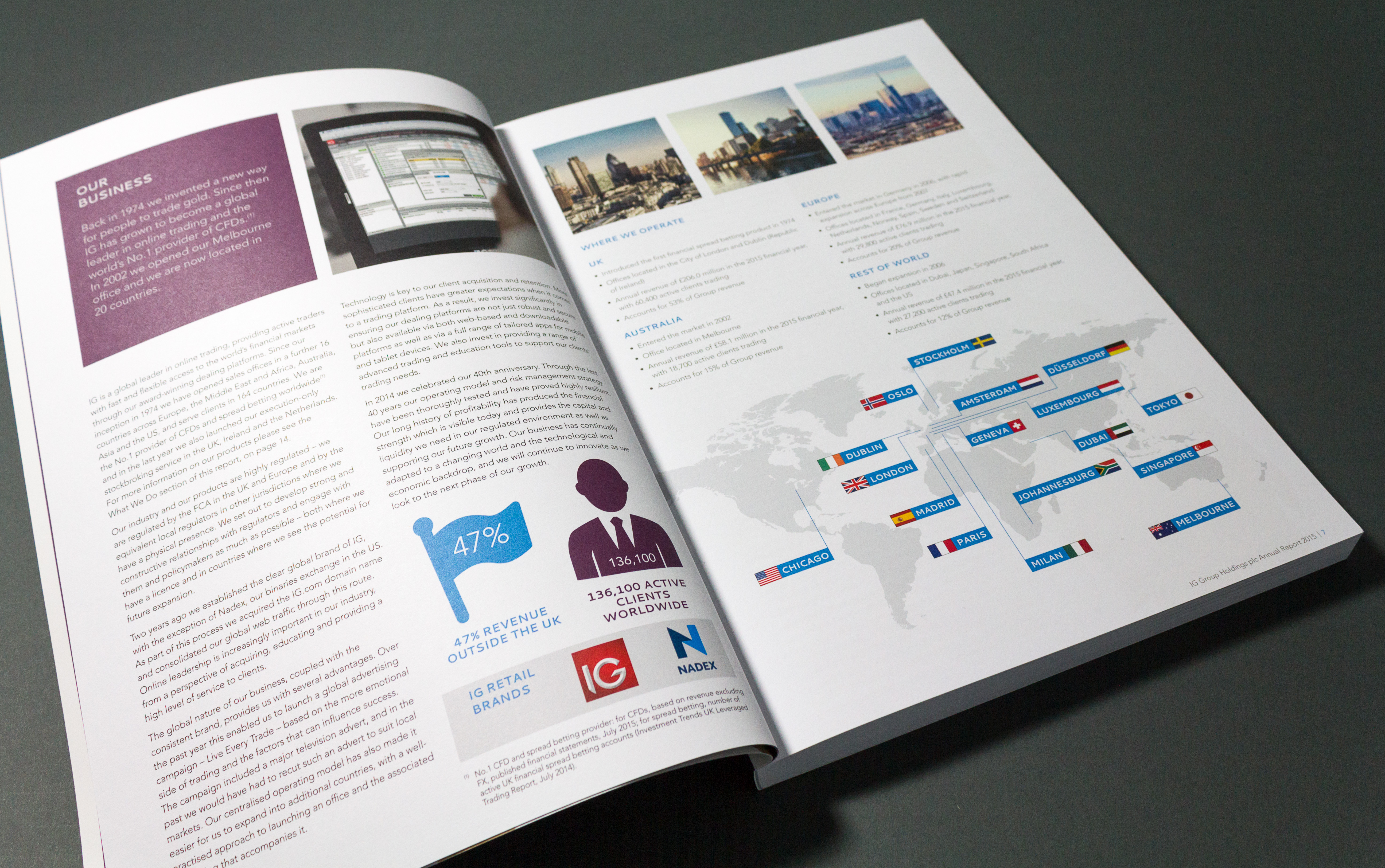 Short case studies in marketing communications  Beiersdorf Annual Report     Case study on Behance   DESIGN   Editorial   Pinterest   Annual Reports  Corporate Communication and Skin care