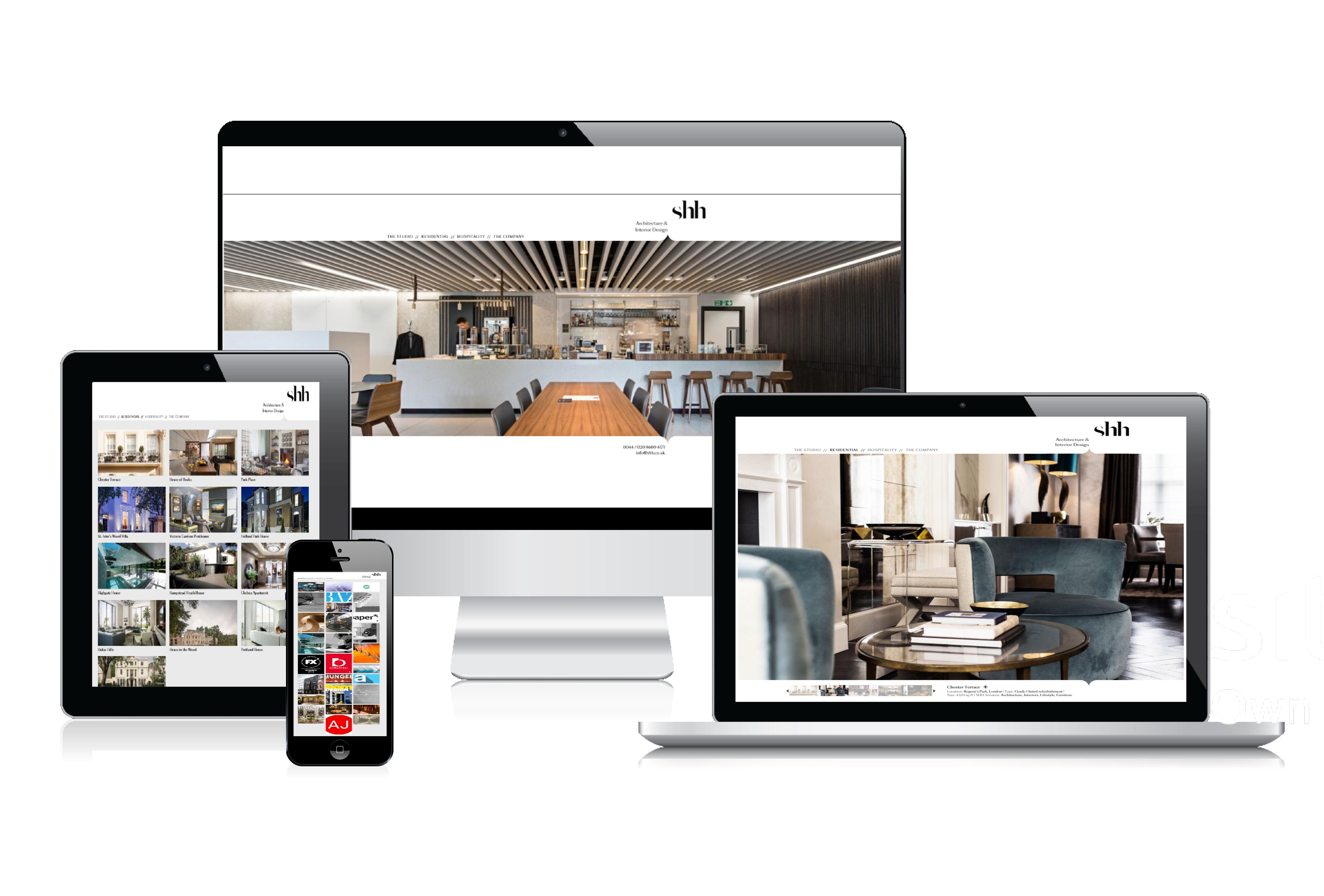 Lab - Case Studies - Interior Design & Architecture Website