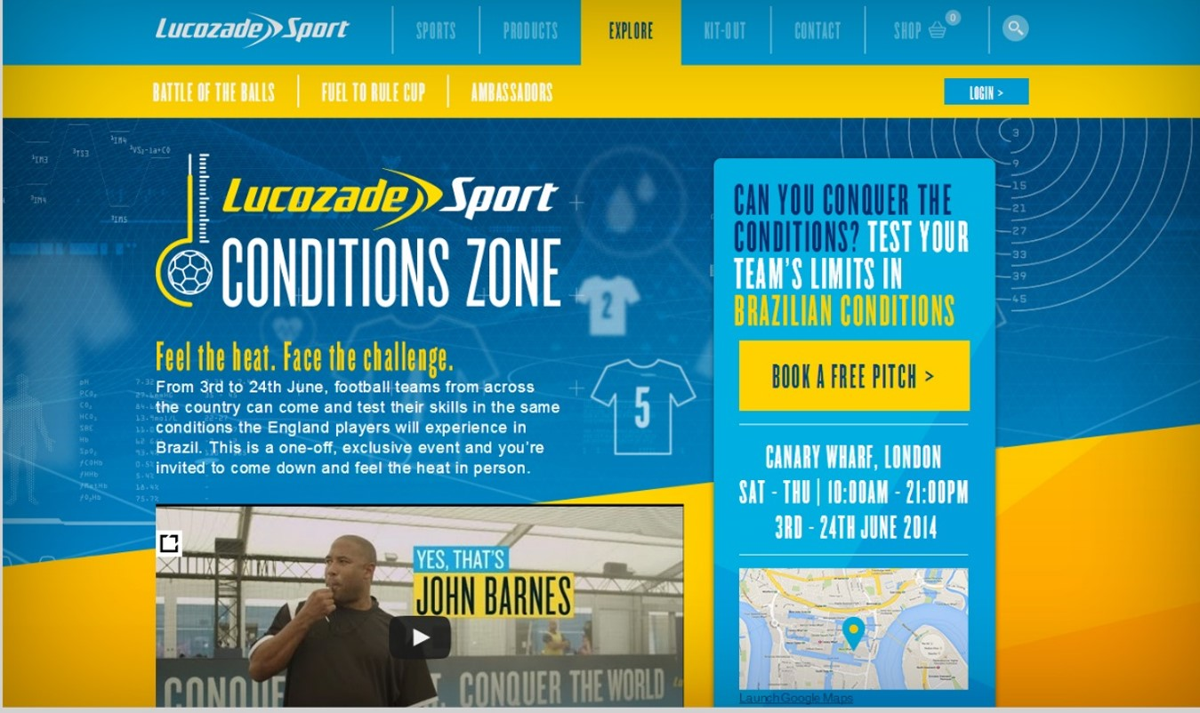 lucozade case study Lucozade's new 14m brand positioning campaign find your flow is crucial for the brand to be seen as more than just a sickness and hangover-cure according to brand director david stratton.